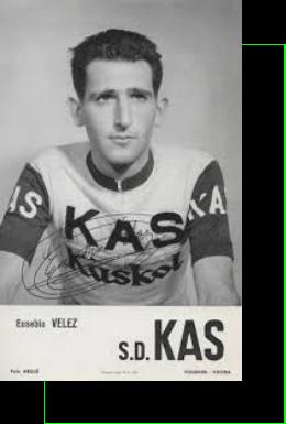 Eusebio Vélez de Mendizábal, ciclista