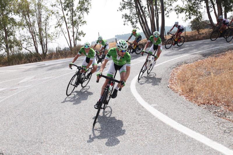 El Bicicletas Rodríguez Extremadura realiza el primer entrenamiento grupal de la temporada 2020